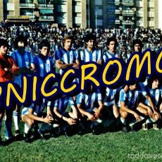 Coleccionismo deportivo: RECREATIVO DE HUELVA 1978 1979 TARJETON TAMAÑO 20X30 TIPO POSTAL ACABADO BRILLO . Lote 57605933
