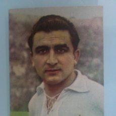 Coleccionismo deportivo: FOTOCROMO, MIGUEL MUÑOZ DEL REAL MADRID, PUBLICIDAD CHAMPAÑA CASTELLBLANCH, AÑO 1953. Lote 58101985