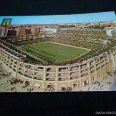 Coleccionismo deportivo: POSTAL ANTIGUA AÑOS 60 CAMPO SANTIAGO BERNABEU NO DEL FUTBOL CLUB FC BARCELONA F.C BARÇA CF. Lote 59712339