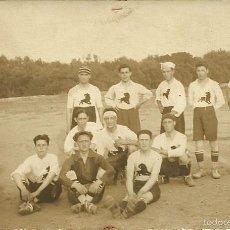 Coleccionismo deportivo: (F-1911)POSTAL FOTOGRAFICA EQUIPO DE FOOT-BALL. Lote 59769284