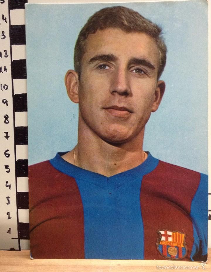 REIXACH F.C. BARCELONA POSTAL SIN CIRCULAR FOTO SEGUI (Coleccionismo Deportivo - Postales de Deportes - Fútbol)