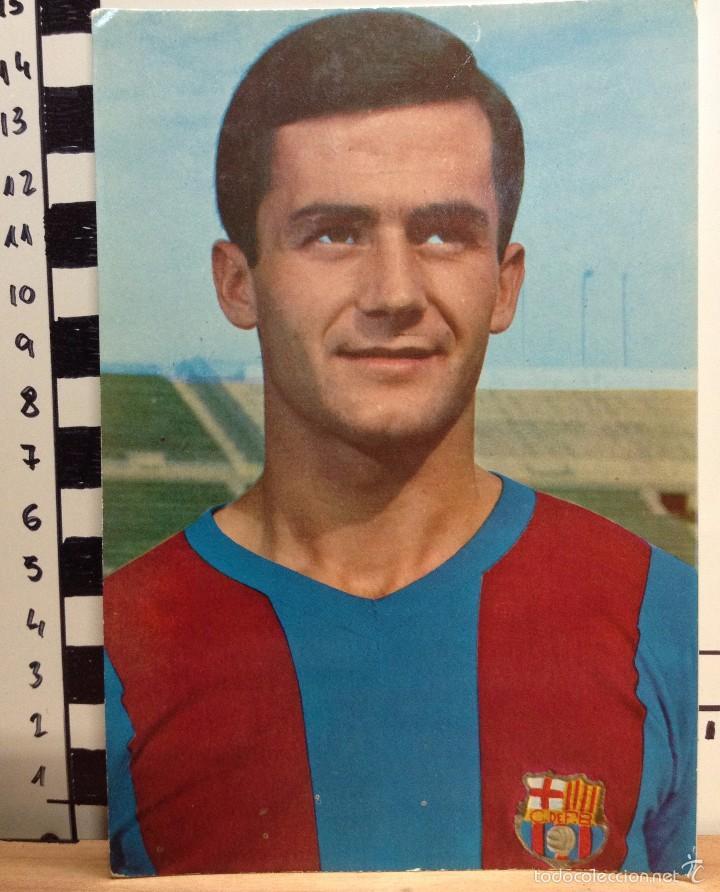 TORRES F.C. BARCELONA POSTAL SIN CIRCULAR FOTO SEGUI (Coleccionismo Deportivo - Postales de Deportes - Fútbol)