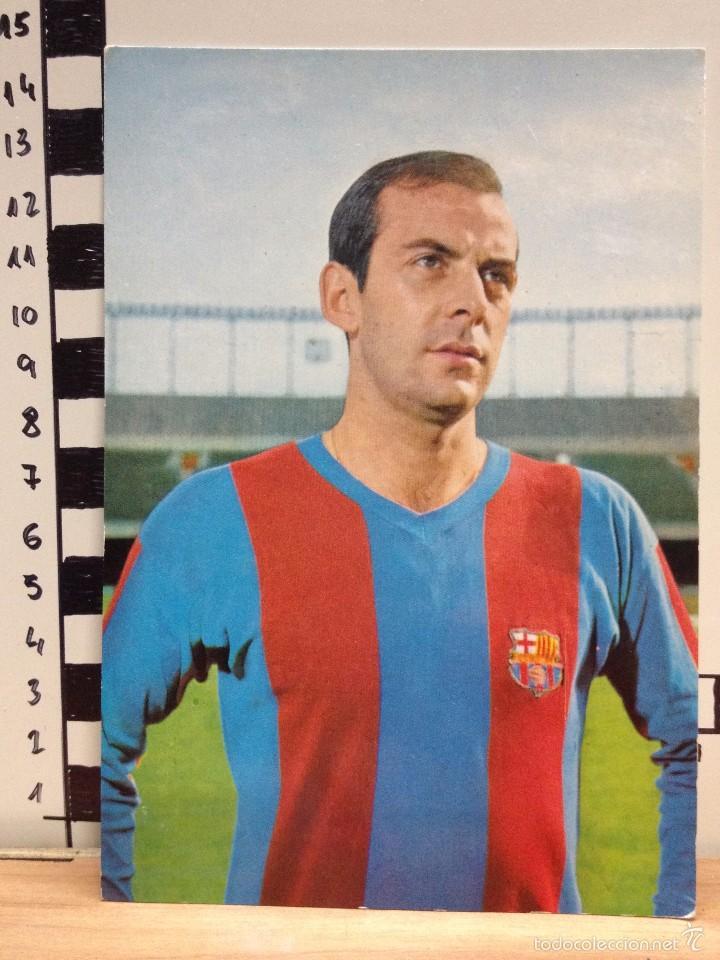 PEREDA F.C. BARCELONA POSTAL SIN CIRCULAR FOTO SEGUI (Coleccionismo Deportivo - Postales de Deportes - Fútbol)