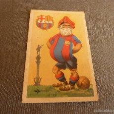 Coleccionismo deportivo: TARJETA POSTAL ORIGINAL 1970 EDICIONES JUFRAN-F.C.BARCELONA(BARÇA) 14CM X 9 CM.. Lote 60839039