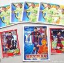Coleccionismo deportivo: 7 POSTAL POSTCARD CROMO STICKET FC BARCELONA MESSI NEYMAR LUIS SUAREZ OCASION !. Lote 61464451