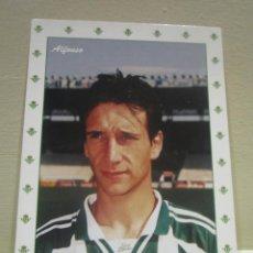 Coleccionismo deportivo: POSTAL POST CARD F C BARCELONA BARÇA ALFONSO PEREZ REAL MADRID REAL BETIS. Lote 61934812
