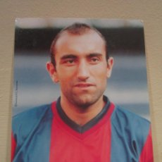 Coleccionismo deportivo: POSTAL POST CARD F C BARCELONA BARÇA ES FOTO (NO POSTAL) ABELARDO. Lote 61934956