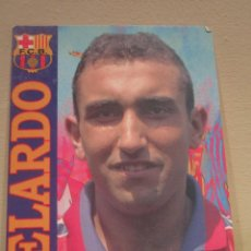 Coleccionismo deportivo: POSTAL POST CARD F C BARCELONA BARÇA ABELARDO. Lote 61935396
