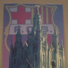 Coleccionismo deportivo: POSTAL POST CARD F C BARCELONA BARÇA TIBIDABO. Lote 61935480