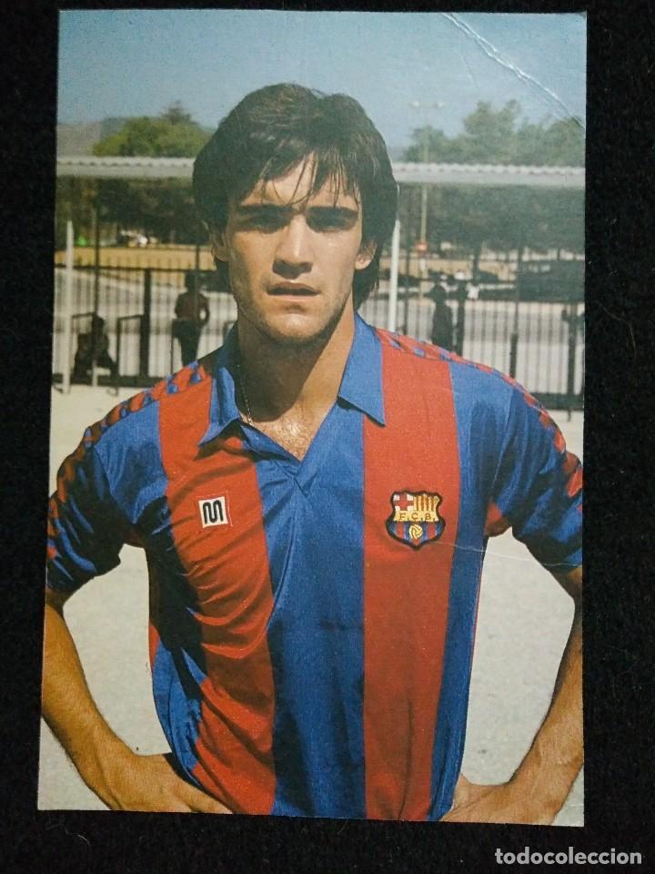 POSTAL MARCOS JUGADOR DEL FUTBOL CLUB FC BARCELONA F.C BARÇA CF (Coleccionismo Deportivo - Postales de Deportes - Fútbol)