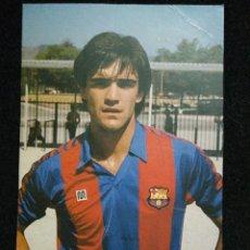 Coleccionismo deportivo: POSTAL MARCOS JUGADOR DEL FUTBOL CLUB FC BARCELONA F.C BARÇA CF . Lote 62519876