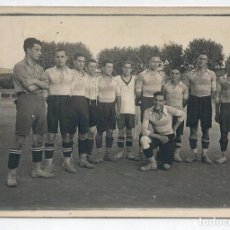 Coleccionismo deportivo: ANTIGUA POSTAL DESCONOZCO EL EQUIPO - POSIBLEMENTE AÑOS 30. Lote 62618272