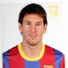 Coleccionismo deportivo: TARJETA POSTAL POST CARD FUTBOL LEO MESSI FC BARCELONA 2007/08 SPANISH FOOTBALL.. Lote 171144855