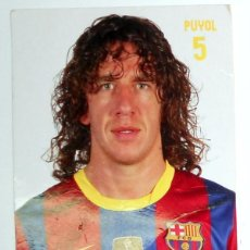 Coleccionismo deportivo: TARJETA POSTAL POST CARD FUTBOL PUYOL FC BARCELONA 2007/08 SPANISH FOOTBALL.. Lote 171144870