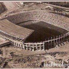 Coleccionismo deportivo: ANTIGUA POSTAL SERIE I NUM 177 BARCELONA ESTADIO DE C DE F BARCELONA ESCRITA 1960. Lote 63979283