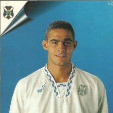 Coleccionismo deportivo: CD TENERIFE 1998.POSTAL 15X10,5 CENTÍMETROS DE JOSE ALEJANDRO SUÁREZ,ALEXIS.. Lote 172699514