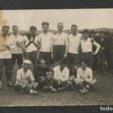 Coleccionismo deportivo: POSTAL ANTIGUA EQUIPO DE FUTBOL - VER REVERSO -(45.165). Lote 64958999