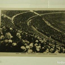 Coleccionismo deportivo: RARA POSTAL FOTOGRAFICA ESTADIO CENTENARIO MONTEVIDEO ANIMADA. Lote 65907690