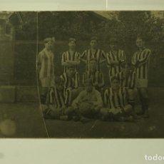 Coleccionismo deportivo: POSTAL FOTOGRAFICA EQUIPO FUTBOL 1914. Lote 65908062