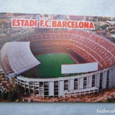 Coleccionismo deportivo: ANTIGUA POSTAL ESTADI -15 CM X 10.5 CM - F.C.BARCELONA .. Lote 66296634