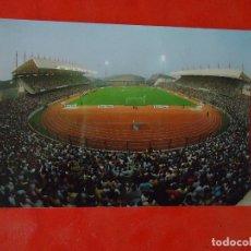 Coleccionismo deportivo: POSTAL FUTBOL ESTADIO MUNICIPAL LA CORUÑA , RIAZOR, FOTO BLANCO , 1984. Lote 66998718