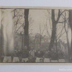 Coleccionismo deportivo: ANTIGUA FOTOGRAFIA ORIGINAL DE EQUIPO NACIONAL DE FUTBOL DE ALEMANIA DEL 1925. Lote 67088149