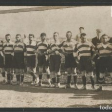 Coleccionismo deportivo: PALAU DE PLEGAMANS - PLANTILLA EQUIPO FUTBOL - FOTOGRAFICA -VER REVERSO-(45.372). Lote 67164165