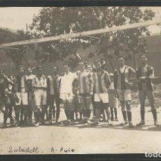 Coleccionismo deportivo: SABADELL F.C. - PLANTILLA EQUIPO FUTBOL - FOTOGRAFICA A. PUIG -VER REVERSO-(45.373). Lote 67164341