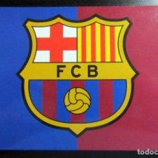 Coleccionismo deportivo: POSTAL FUTBOL POST CARD FOOTBALL ESCUDO F.C. BARCELONA GRUPO ERIK. Lote 67534753