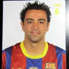 Coleccionismo deportivo: POSTAL FUTBOL POST CARD FOOTBALL XAVI HERNANDEZ F.C. BARCELONA GRUPO ERIK. Lote 288419833