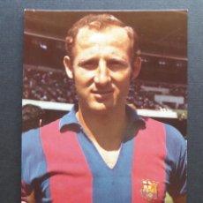 Coleccionismo deportivo: FICHA DE FRANCISCO FERNANDEZ RODRIGUEZ -GALLEGO-. POSTAL DE PROPAGANDA DE WILIAMS. Lote 67736609