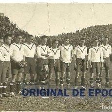 Coleccionismo deportivo: (F-161130)POSTAL FOTOGRAFIA DE MANUEL CROS C.D.EUROPA EN EL CAMPO DE LES CORTS. Lote 68017857