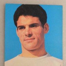 Coleccionismo deportivo: TARJETA POSTAL JOSE LUIS REAL MADRID. BERGAS 1968. Lote 68411105