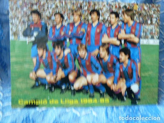 FC BARCELONA POSTAL TEMPORADA 1984-85 (Coleccionismo Deportivo - Postales de Deportes - Fútbol)