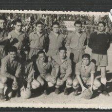 Coleccionismo deportivo: R.C.D. ESPAÑOL - ES FOTO -TAMAÑO POSTAL -REVERSO BLANCO-PARTIDO CON EL ALCOYANO-VER REVERSO-(45.682). Lote 69418041