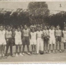Coleccionismo deportivo: POSTAL FOTOGRAFIA CAMPEONATO ESPAÑA BALONCESTO BASKET 1934 RAYO MADRID JUVENTUS SABADELL BARCELONA 5. Lote 69835721