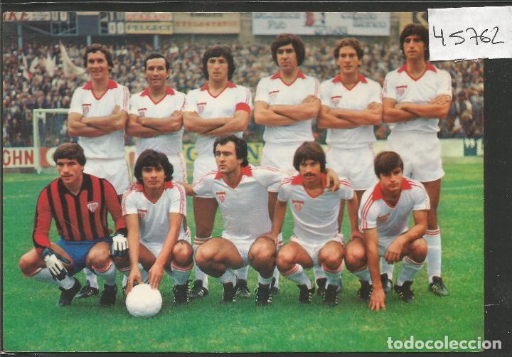 POSTAL SEVILLA CLUB DE FUTBOL - AÑO 1978 KOLRHAM- VER REVERSO - (45.762) (Coleccionismo Deportivo - Postales de Deportes - Fútbol)