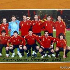 Coleccionismo deportivo: SELECCIÓN ESPAÑOLA - FOTO CAMPEONES DE EUROCOPA 2008 - ESPAÑA. Lote 72880927