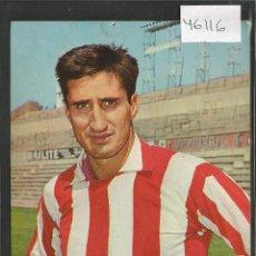 Coleccionismo deportivo: CALLEJA - ATLETICO DE MADRID -28 -POSTAL OSCARCOLOR -VER REVERSO- (46.116). Lote 73926771