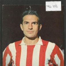 Coleccionismo deportivo: RIVILLA - ATLETICO DE MADRID -30 -POSTAL OSCARCOLOR -VER REVERSO- (46.118). Lote 73927207