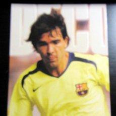 Coleccionismo deportivo: POSTAL FUTBOL POST CARD FOOTBALL F.C.BARCELONA DECO. Lote 288419828