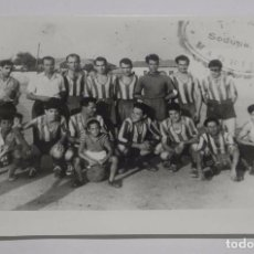 Coleccionismo deportivo: FOTOGRAFIA DEL CLUB DE FUTBOL ALEGRIA, DEL POZO DEL TIO RAIMUNDO, VALLECAS, ESTA FOTOGRAFIA ES UNA A. Lote 75684587