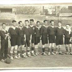 Coleccionismo deportivo: (F-170231)POSTAL FOTOGRAFICA EQUIPO DE FOOT-BALL AÑOS 20 , FOTO SOLANES. Lote 75889527