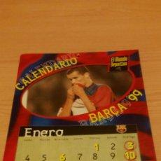 Coleccionismo deportivo: CALENDARIO 1999 BARÇA MUNDO DEPORTIVO. Lote 76184199