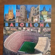 Coleccionismo deportivo: POSTAL TURÍSTICA ESTADIO BARÇA CAMP NOU FC BARCELONA - B&W Nº 34. Lote 295526093