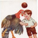 Coleccionismo deportivo: PS7434 CARICATURA. 'ORIGINAL PARTIDO DE FOOT-BALL'. JIMMY. ED. VICTORIA. CIRCULADA. 1934. Lote 79111129