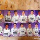 Coleccionismo deportivo: LOTE 13 POSTALES FUTBOL REAL MADRID REALMADRID 94-95 INFOSA FOTO FOTOS JORGE IGLESIAS. Lote 79803029