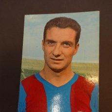 Coleccionismo deportivo: FUSTE. CF BARCELONA. POSTAL SIN CIRCULAR. FOTO SEGUÍ. Lote 80007945
