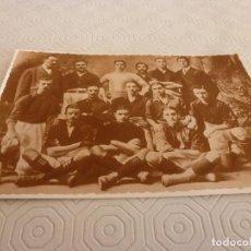 Coleccionismo deportivo: POSTAL(10 X 15)F.C.BARCELONA 1910 (BARÇA CAMPEÓN CATALUÑA,ESPAÑA Y LOS PIRINEOS)ENTRENADOR GAMPER.. Lote 80301697