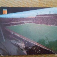 Coleccionismo deportivo: POSTAL DE ESTADIO MESTALLA AÑOS 60 CIRCULADA . Lote 80604790